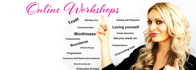 Heidi's online workshops